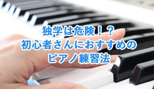 【大人のピアノ初心者】独学は危険!?おすすめの練習法