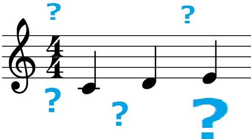 「ドレミ」を書き込まないと楽譜が読めない!そんなときの解決法
